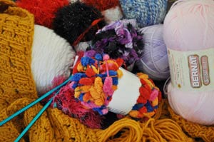 yarn, knitting, crochet